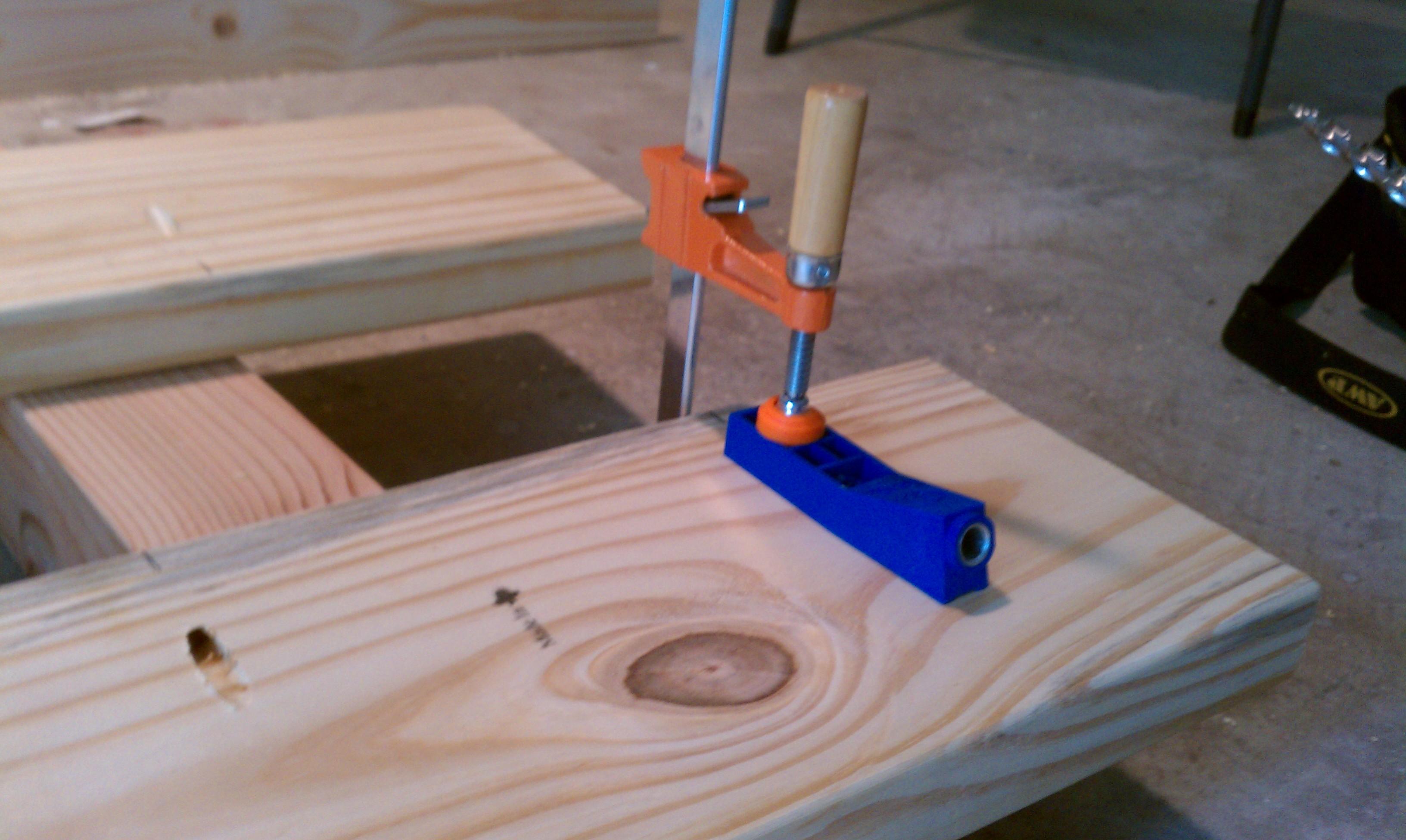 Computer desk plans woodworking kreg