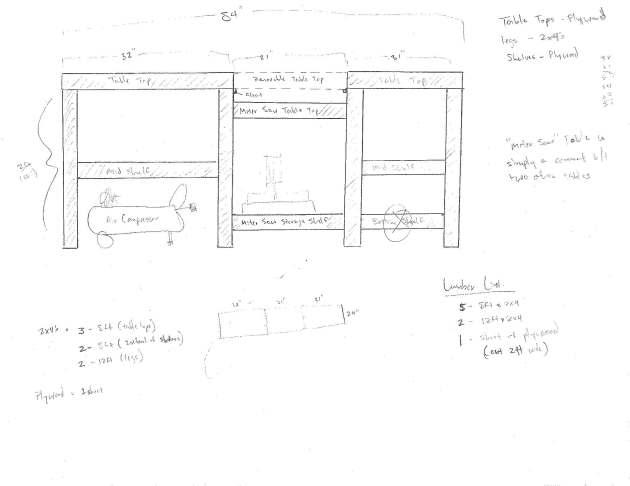 Diy Wooden Miter Saw Table Plans Wooden Pdf Tea House Plan