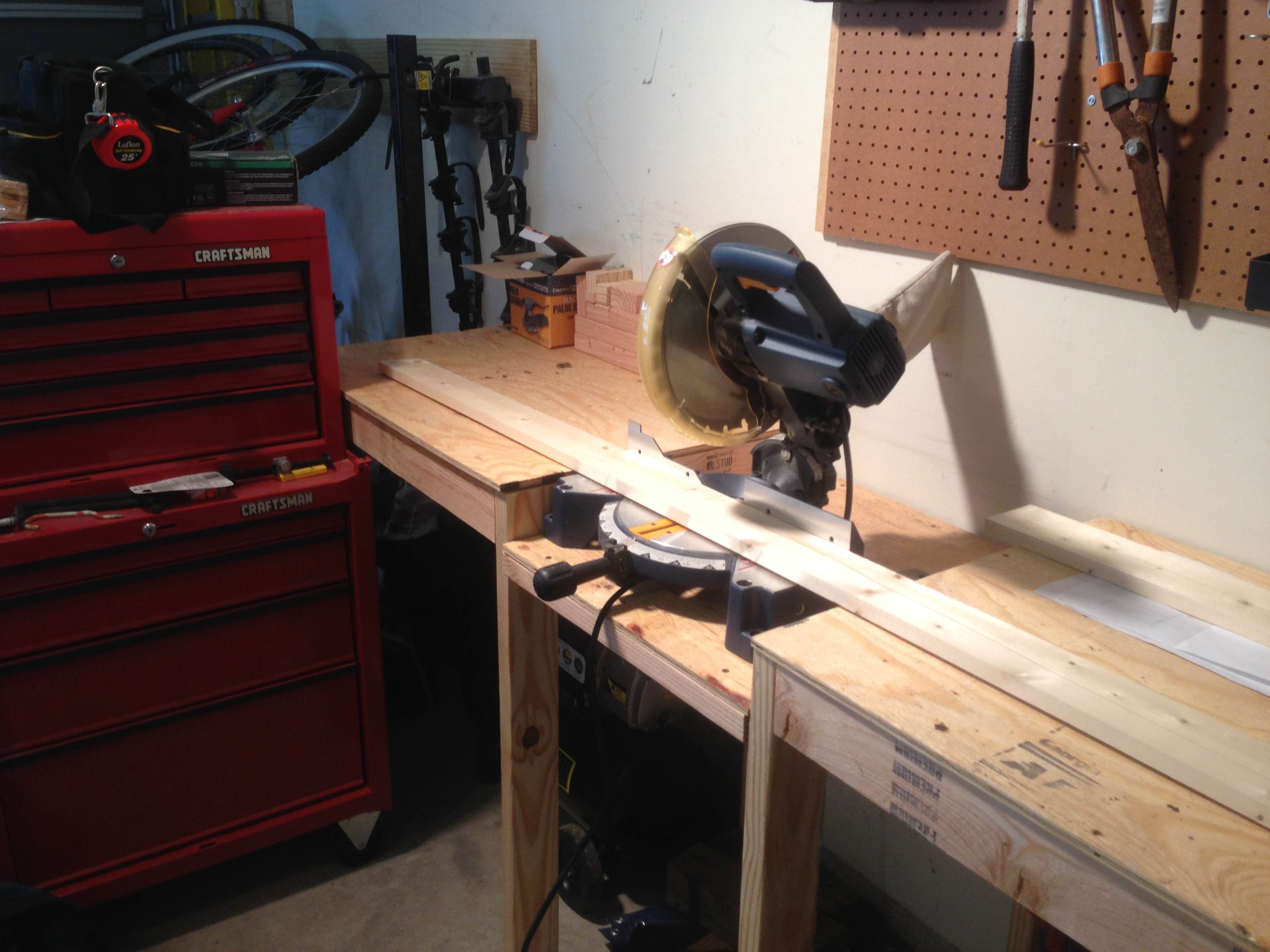 pocket hole workbench plans