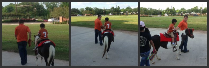 Nicky pony ride
