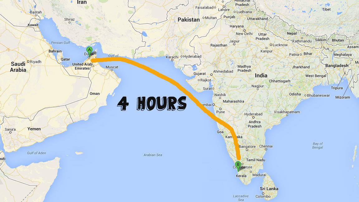Trip to India Sajan Abraham