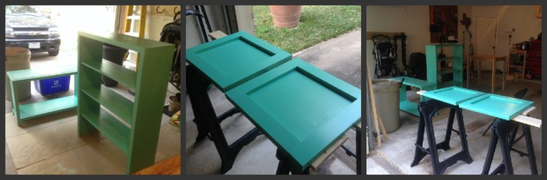 painted turquois