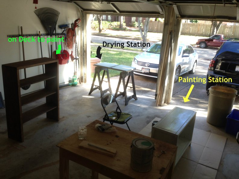 painting station