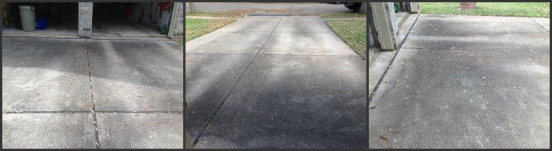 dirty driveway