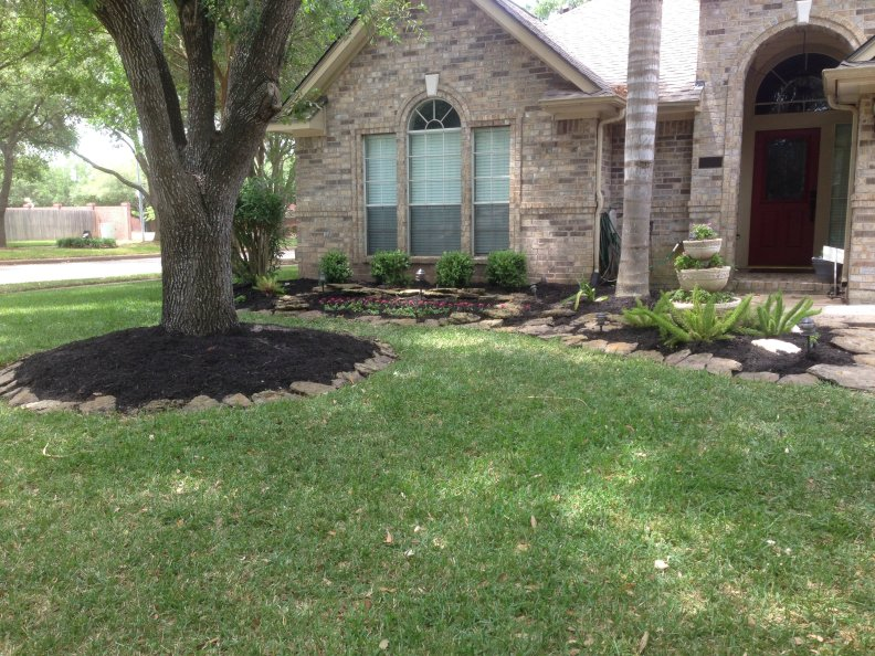 finished mulch