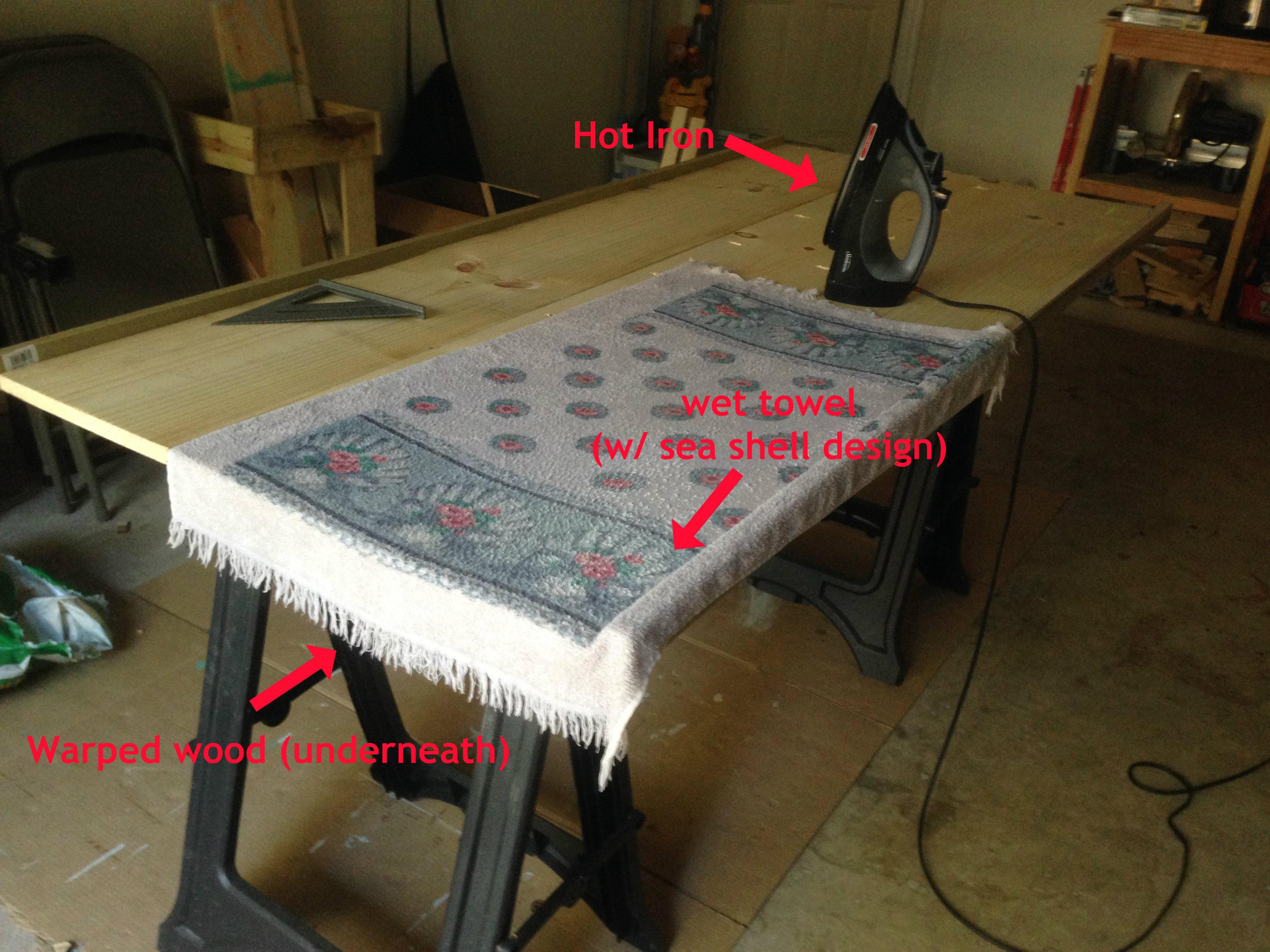 warped wood fix. Building a Table Top   Sajan Abraham