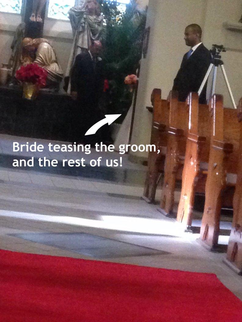 bride tease