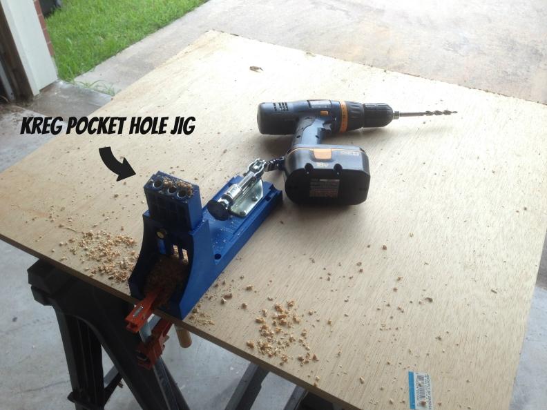 Pocket Hole station