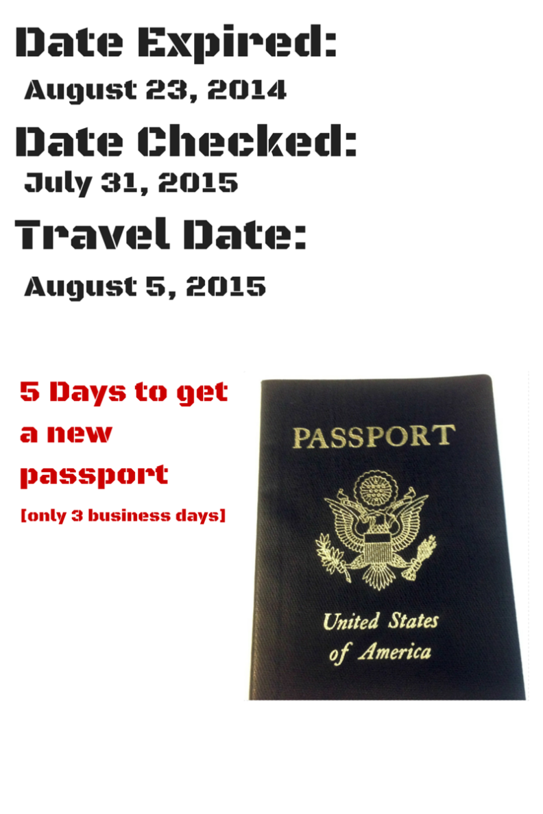 Passport expired