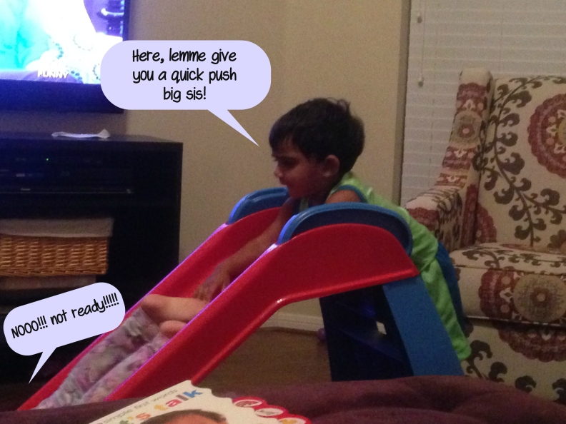slide push