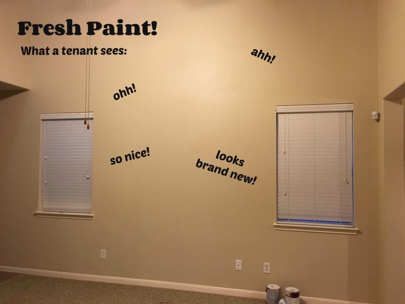fresh paint tenant
