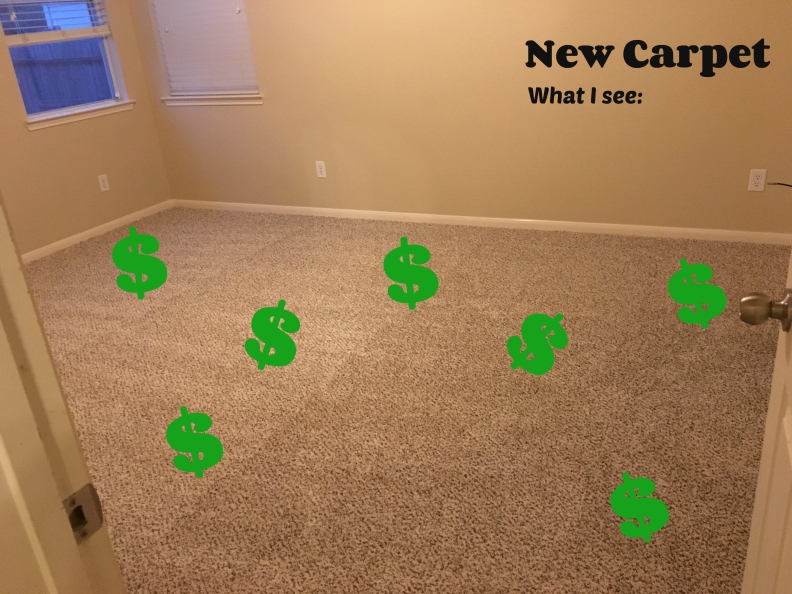 new carpet me
