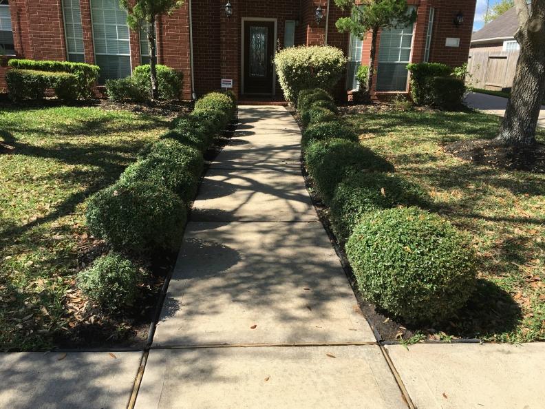 clean walkway